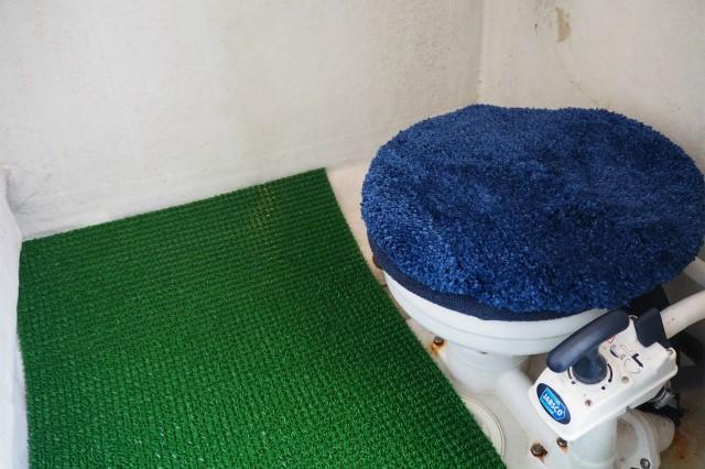 個室トイレ 安心福岡市箱崎港 船釣りなら エル・クルーズ